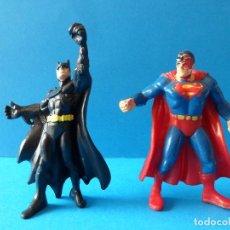 Figuras y Muñecos DC: FIGURAS DE BATMAN Y SUPERMAN - BULLY Y COMICS SPAIN - D.C. COMICS. Lote 120877347