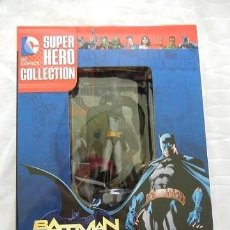 Figuras y Muñecos DC: FIGURA BATMAN ESCALA 1/21 SUPERHERO COLLECTION + REVISTA ¡NUEVO A ESTRENAR!. Lote 131122656
