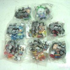 Figuras y Muñecos DC: 8X ¡¡NUEVOS¡¡ LITTLE MATES-FIGURA PVC-WARNER SUPERHEROES-LITLE LITTLEMATES FIGURAS. Lote 125646979
