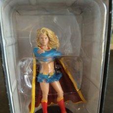 Figuras y Muñecos DC: FIGURA SUPER GIRL, DE PLOMO PINTADO. DC CÓMIC 2008. Lote 127211435
