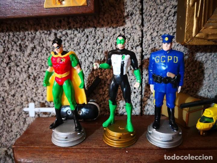 3 FIGURAS AJEDREZ SUPER HÉROES DC COMIC (Juguetes - Figuras de Acción - DC)