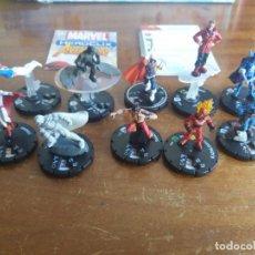 Figuras y Muñecos DC: LOTE 10 FIGURAS DISTINTAS Y NUEVAS. AVENGERS. HEROCLIX/MARVEL. Lote 129352063