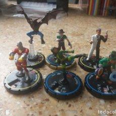 Figuras y Muñecos DC: LOTE 6 FIGURAS DC/HEROCLIX/MARVEL. Lote 129380155