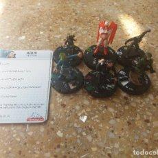 Figuras y Muñecos DC: LOTE 6 FIGURAS .DC/HEROCLIX/COMICS. Lote 129381691