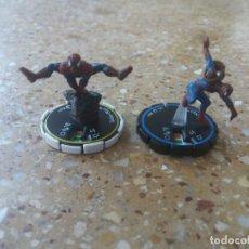 Figuras y Muñecos DC: LORE 2 FIGURAS MARVEL HEROCLIX . SPIDERMAN. Lote 129424459