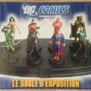 Figuras y Muñecos DC: DC FIGURAS DE PLOMO ALTAYA- PEANA EXPOSITORA. Lote 129699431