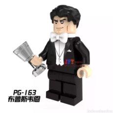 Figuras y Muñecos DC: MINIFIGURA COMPATIBLE CON LEGO BRUCE WAYNE BATMAN NUEVO EN BOLSA SELLADA FIGURA MUÑECO ACCIÓN CINE. Lote 131104691