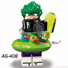 Figuras y Muñecos DC: MINIFIGURA COMPATIBLE CON LEGO BATMAN JOCKER FLOTADOR NUEVO EN BOLSA SELLADA EDICIÓN VERANO MUÑECO. Lote 131104880