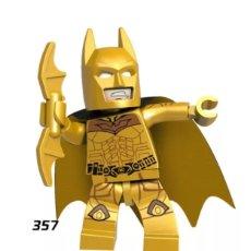 Figuras y Muñecos DC: MINIFIGURA COMPATIBLE CON LEGO BATMAN AMARILLO NUEVO EN BOLSA SELLADA FIGURA MUÑECO ACCIÓN CINE. Lote 131117115