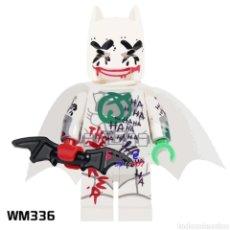 Figuras y Muñecos DC: MINIFIGURA COMPATIBLE CON LEGO BATMAN BLANCO JOCKER NUEVO EN BOLSA SELLADA FIGURA MUÑECO. Lote 131143460