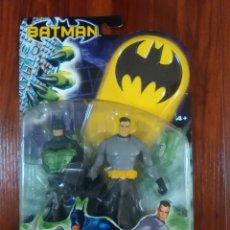 Figuras y Muñecos DC: BATMAN - BRUCE WAYNE - BRUNO DIAZ - MATTEL - DC COMICS - NUEVA. Lote 136137038