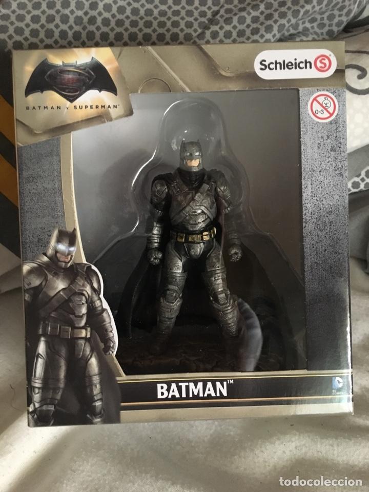 Figuras y Muñecos DC: BATMAN-BATMAN CONTRA SUPERMAN-11 Cm-SCHLEICH-PRECINTADO NUEVO-PINTADAS A MANO - Foto 2 - 137316673