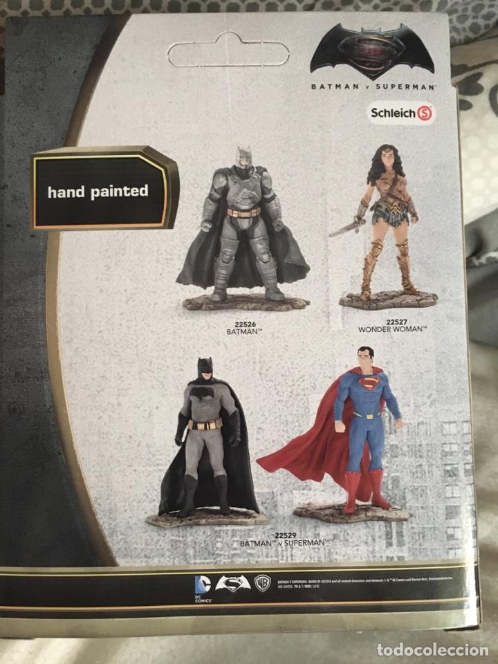 Figuras y Muñecos DC: BATMAN-BATMAN CONTRA SUPERMAN-11 Cm-SCHLEICH-PRECINTADO NUEVO-PINTADAS A MANO - Foto 3 - 137316673