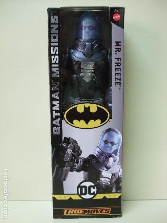 FIGURA MR. FREEZE ( CABEZA BLANCA WHITE FACE ) 30 CM 12 PULGADAS BATMAN MISSIONS MATTEL DC COMICS (Juguetes - Figuras de Acción - DC)
