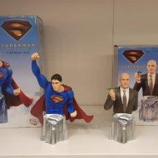 Figuras y Muñecos DC: LOTE BUSTOS SUPERMAN DC. Lote 141231304