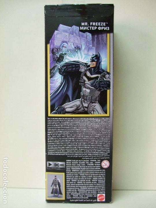 Figuras y Muñecos DC: FIGURA MR. FREEZE ( CABEZA BLANCA WHITE FACE ) 30 CM 12 PULGADAS BATMAN MISSIONS MATTEL DC COMICS - Foto 3 - 276942238