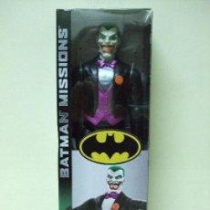Figuras y Muñecos DC: FIGURA THE JOKER 30 CM 12 PULGADAS BATMAN MISSIONS MATTEL DC COMICS COMIC EL. Lote 143762249
