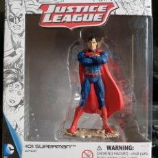 Figurines et Jouets DC: FIGURA DE LA LIGA DE LA JUSTICIA; DC COMICS. SUPERMAN. NUEVA, SIN ABRIR. EN SU CAJA ORIGINAL. Lote 143408194