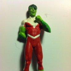 Figuras y Muñecos DC: D C - BEAST BOY - MUY BIEN CONSERVADO- EN PLOMO. Lote 149810618