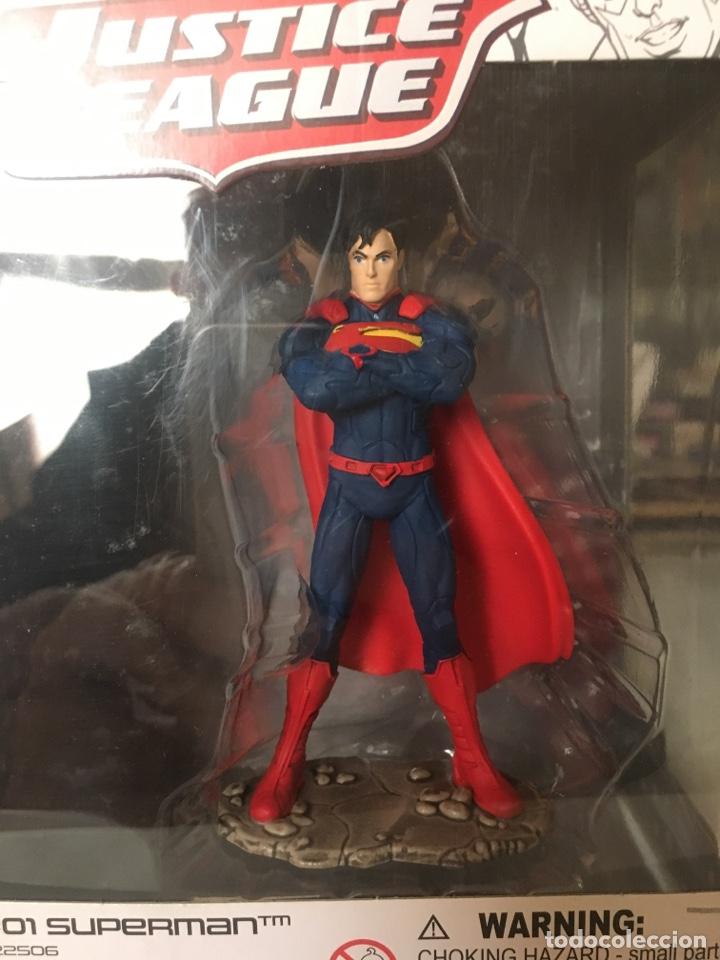 SUPERMAN-JUSTICE LEAGUE-SCHLEICH-PRECINTADO NUEVO (Juguetes - Figuras de Acción - DC)