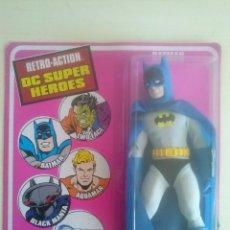 Figuras y Muñecos DC: BATMAN RETRO ACTION DC SUPER HEROES MATTEL 2010 MEGO BLISTER SIN ABRIR. Lote 150979374