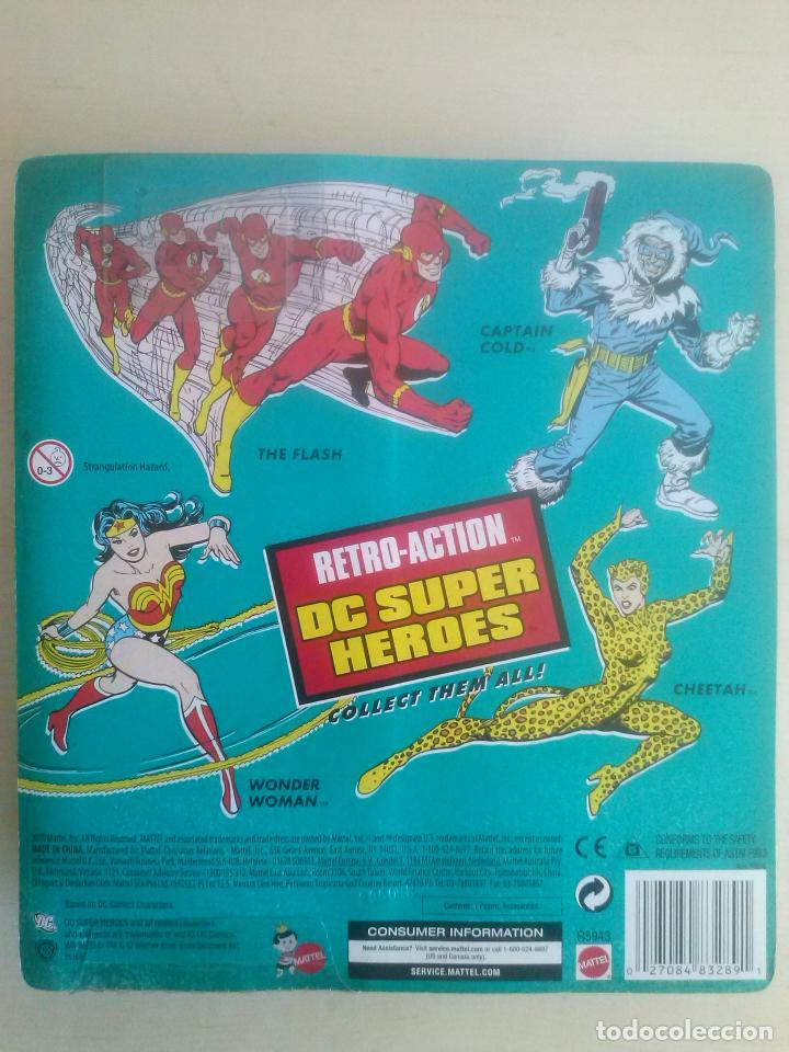 Figuras y Muñecos DC: WONDER WOMAN RETRO ACTION DC SUPER HEROES MATTEL 2010 MEGO BLISTER SIN ABRIR - Foto 2 - 150980486
