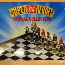 Figuras y Muñecos DC: AJEDREZ – DC SUPER HEROES – SPECIAL COLLECTION – YEAR 2.000 - 4022518015082. Lote 152514042