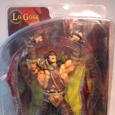 Figuras y Muñecos DC: DC UNLIMITED WORLD OF WARCRAFT SERIES 5: ALLIANCE HERO: LO'GOSH ACTION FIGURE. Lote 152515142