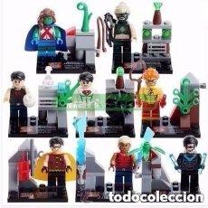 Figurines et Jouets DC: 8 FIGURAS DE SUPERHEROES (NUEVO) LOTE 29. Lote 152580042