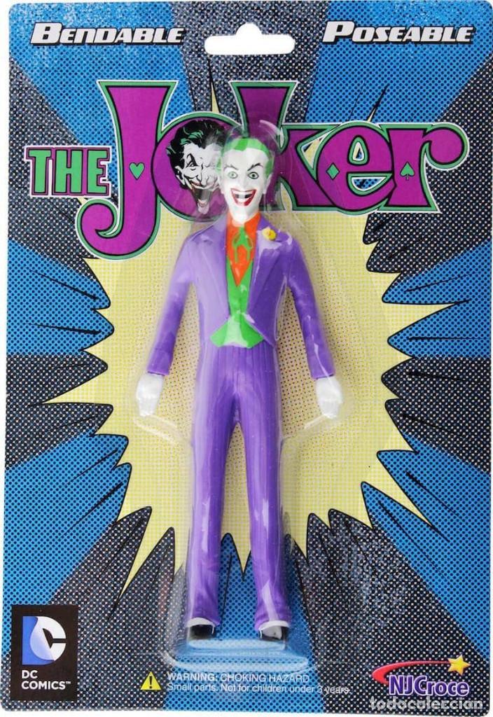 EL JOKER CLASICO FIGURA FLEXIBLE 14 CM UNIVERSO DC (Juguetes - Figuras de Acción - DC)