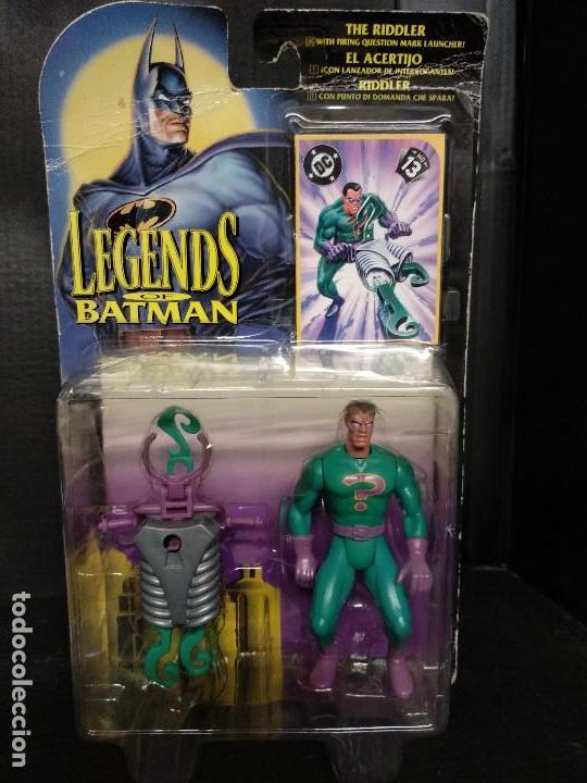 BATMAN LEGENDS ACERTIJO/THE RIDDLER - NUEVO (Juguetes - Figuras de Acción - DC)