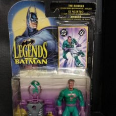 Figuras y Muñecos DC: BATMAN LEGENDS ACERTIJO/THE RIDDLER - NUEVO. Lote 154456186