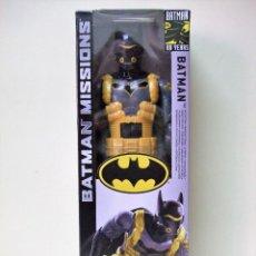 Figuras y Muñecos DC: FIGURA BATMAN TRAJE TOXINA ANTI-MIEDO 30 CM 12 PULGADAS BATMAN MISSIONS 80 YEARS MATTEL DC COMICS. Lote 156620614