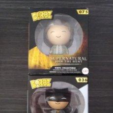 Figuras y Muñecos DC: FUNKO DORBZ LOTE 2 FIGURAS SAM + BATMAN. Lote 156724170