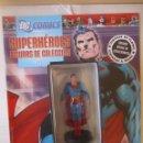 Figuras y Muñecos DC: FIGURA DE PLOMO SUPERMAN DC ALTAYA, CON CAJA Y REVISTA. Lote 157280566
