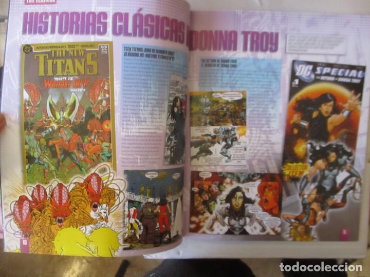 Figuras y Muñecos DC: FIGURA DE PLOMO DONNA TROY DC ALTAYA, CON CAJA Y REVISTA - Foto 3 - 157286730