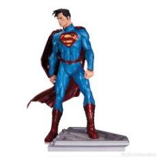 Figuras y Muñecos DC: SUPERMAN MAN OF STEEL ESTATUA RESINA 18CM ED. LIMITADA 5200 DC. NUEVA LIQUIDACION FIGURA.. Lote 163385173