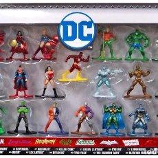 Figurines et Jouets DC: NANO METALFIGS DC COMICS (PACK 20). Lote 165938398