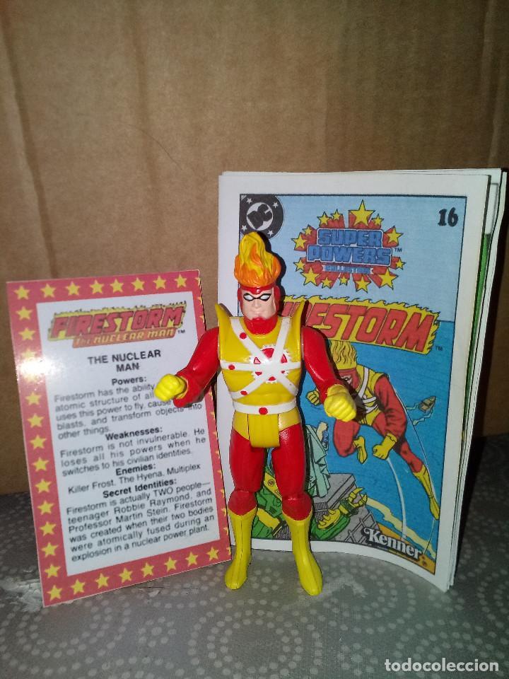 Fire storm super powers kenner mini comic + bio - Sold