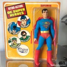 "Figuras y Muñecos DC: SUPERMAN 8"" RETRO-ACTION FIGURE - MEGO STYLE - MATTEL 2009. Lote 166749104"
