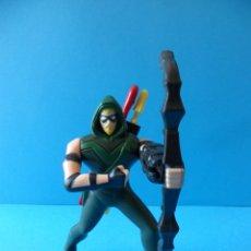 Figurines et Jouets DC: FIGURA DE FLECHA VERDE. ORIGINAL DE DC COMICS - MCDONALDS.2016 - FUNCIONA. Lote 167142404