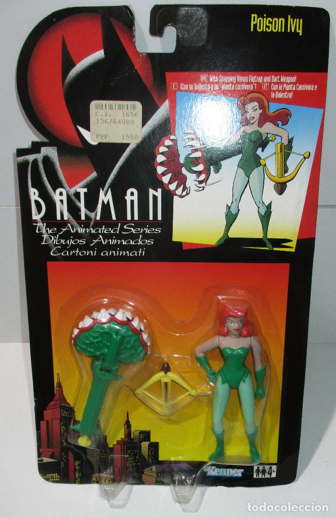 Figuras y Muñecos DC: BATMAN, THE ANIMATED SERIES, figura POISON IVY, KENNER 1994, nueva - Foto 1 - 171272240
