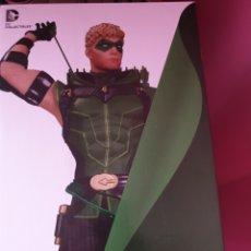 Figuras y Muñecos DC: DC COLLECTIBLES JLA BATMAN SUPERMAN ESTATUA GREEN ARROW NUEVA DIFICIL. Lote 171515598