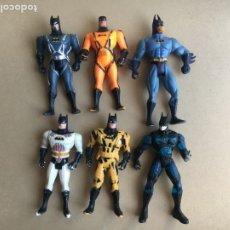 Figuras y Muñecos DC: LOTE X6 MUÑECOS BATMAN DC COMICS - MARCA KENNER DE 1993, 1994 Y 1996. Lote 172912254