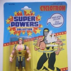 Figuras y Muñecos DC: DC SUPER POWERS CYCLOTRON FIGURA NUEVA EN BLISTER KENNER 1986. Lote 173184894