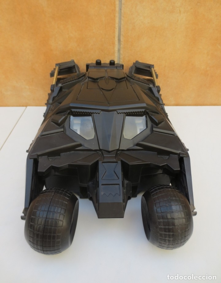 Figuras y Muñecos DC: COCHE BATMAN - BATIMOVIL- THE DARK KNIGHT BATMOBILE - ESC.1/18 - Foto 3 - 173928708