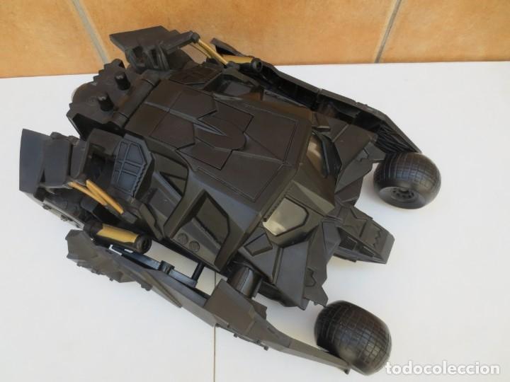 Figuras y Muñecos DC: COCHE BATMAN - BATIMOVIL- THE DARK KNIGHT BATMOBILE - ESC.1/18 - Foto 8 - 173928708