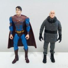 Figuras y Muñecos DC: FIGURAS DE SUPERMAN Y LEX LUTHOR DE LA PELÍCULA SUPERMAN RETURNS. DC COMICS.. Lote 174241137