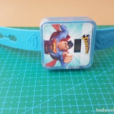 Figuras y Muñecos DC: RELOJ DIGITAL DE SUPERMAN (DC COMICS) MCDONALD'S/MCDONALD/MCDONALDS - 2015. Lote 174583199
