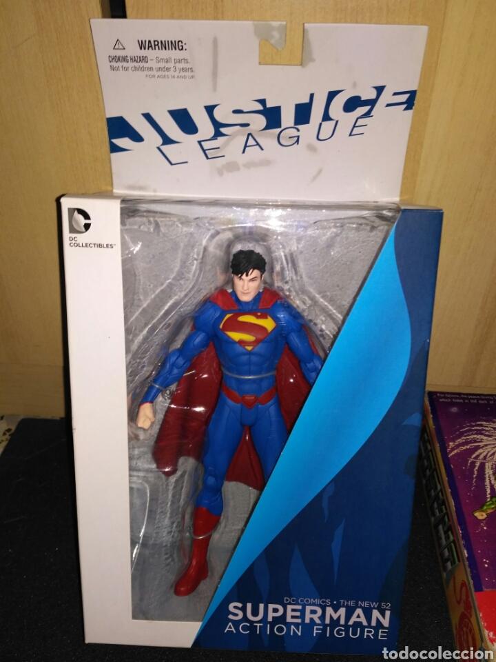 FIGURA DE ACCION SUPERMAN NUEVA EN SU CAJA (Juguetes - Figuras de Acción - DC)